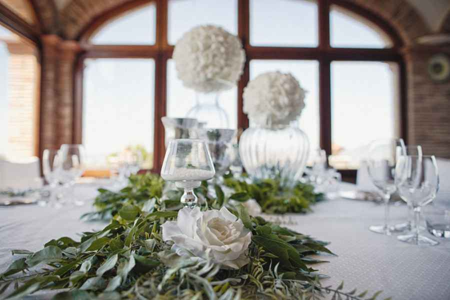 Elegant wedding venue in a restort in Italy