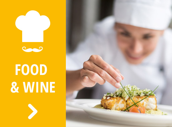Banner food e wine home