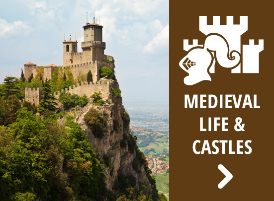 Italy medieval castles tours - Key to Italy Tours