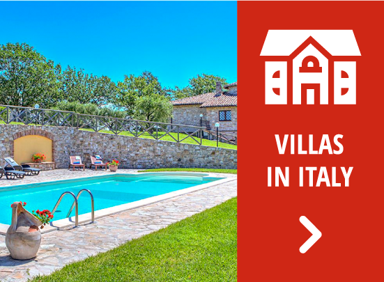 Villas in Italy for rent - Key to Italy Tours