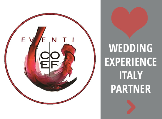 coef wedding experience italy partner key to italy