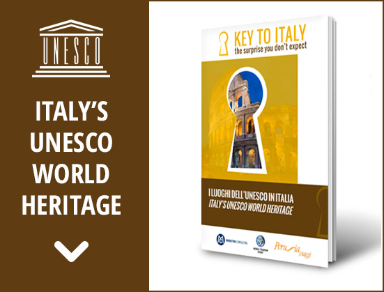 Banner unesco world heritage in italy key to italy